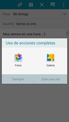 Samsung A500FU Galaxy A5 - E-mail - Escribir y enviar un correo electrónico - Paso 12