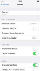 Apple iPhone 6s iOS 10 - E-mail - Configurar correo electrónico - Paso 27
