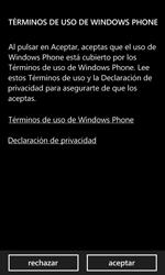 Nokia Lumia 520 - Primeros pasos - Activar el equipo - Paso 5