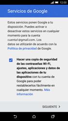 HTC One M9 - E-mail - Configurar Gmail - Paso 14