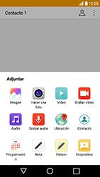 LG K10 (2017) - MMS - Escribir y enviar un mensaje multimedia - Paso 14