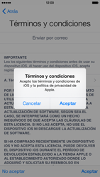Apple iPhone 6 iOS 8 - Primeros pasos - Activar el equipo - Paso 16