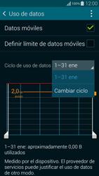 Samsung G850F Galaxy Alpha - Internet - Ver uso de datos - Paso 6