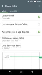 HTC One A9 - Internet - Ver uso de datos - Paso 6