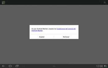 Samsung P7500 Galaxy Tab 10-1 - Aplicaciones - Tienda de aplicaciones - Paso 14