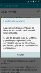 Samsung A500FU Galaxy A5 - Internet - Ver uso de datos - Paso 9