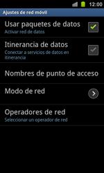Samsung I8160 Galaxy Ace II - Internet - Activar o desactivar la conexión de datos - Paso 6