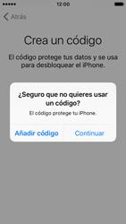 Apple iPhone SE - Primeros pasos - Activar el equipo - Paso 16