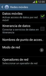 Samsung S7580 Galaxy Trend Plus - MMS - Configurar el equipo para mensajes multimedia - Paso 6