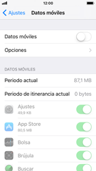 Apple iPhone 5s - iOS 11 - Internet - Activar o desactivar la conexión de datos - Paso 5