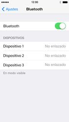 Apple iPhone 5s - Connection - Conectar dispositivos a través de Bluetooth - Paso 5