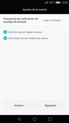 Huawei P8 - E-mail - Configurar correo electrónico - Paso 18