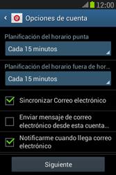 Samsung S6310 Galaxy Young - E-mail - Configurar correo electrónico - Paso 19