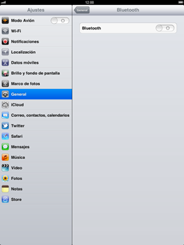 Apple iPad 2 - Connection - Conectar dispositivos a través de Bluetooth - Paso 5