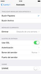 Apple iPhone 6 iOS 8 - E-mail - Configurar correo electrónico - Paso 23
