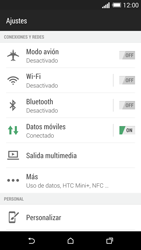 HTC One M8 - WiFi - Conectarse a una red WiFi - Paso 4