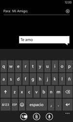 Nokia Lumia 520 - MMS - Escribir y enviar un mensaje multimedia - Paso 8