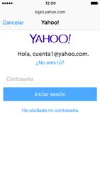 Apple iPhone SE - iOS 10 - E-mail - Configurar Yahoo! - Paso 7