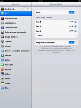 Apple iPad 2 - WiFi - Conectarse a una red WiFi - Paso 5