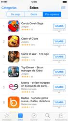Apple iPhone 6 iOS 8 - Aplicaciones - Descargar aplicaciones - Paso 10