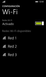 Nokia Lumia 635 - WiFi - Conectarse a una red WiFi - Paso 6