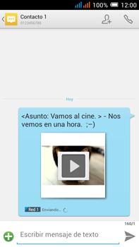 Alcatel Pop C9 - MMS - Escribir y enviar un mensaje multimedia - Paso 21