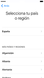 Apple iPhone 5s iOS 10 - Primeros pasos - Activar el equipo - Paso 7