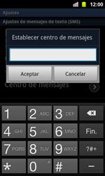 Samsung I8160 Galaxy Ace II - MMS - Configurar el equipo para mensajes de texto - Paso 5