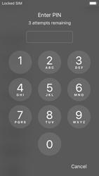 Apple iPhone SE - iOS 11 - Primeros pasos - Activar el equipo - Paso 5