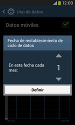 Samsung S7580 Galaxy Trend Plus - Internet - Ver uso de datos - Paso 7