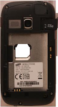 Samsung S6310 Galaxy Young - Primeros pasos - Quitar y colocar la batería - Paso 5