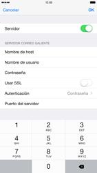 Apple iPhone 6 Plus iOS 8 - E-mail - Configurar correo electrónico - Paso 20