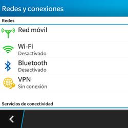 BlackBerry Q5 - Internet - Activar o desactivar la conexión de datos - Paso 5