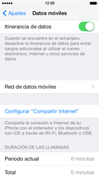 Apple iPhone 5s - Internet - Configurar Internet - Paso 7
