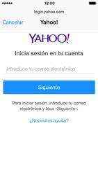 Apple iPhone SE - iOS 10 - E-mail - Configurar Yahoo! - Paso 6