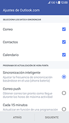 HTC 10 - E-mail - Configurar Outlook.com - Paso 7