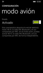 Nokia Lumia 635 - Red - Activar o desactivar el modo avión - Paso 6