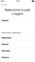 Apple iPhone 5s - Primeros pasos - Activar el equipo - Paso 4
