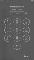 Apple iPhone 6 iOS 8 - Primeros pasos - Activar el equipo - Paso 5