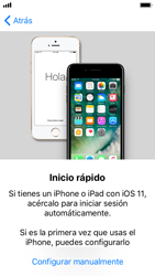Apple iPhone 5s - iOS 11 - Primeros pasos - Activar el equipo - Paso 9