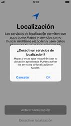 Apple iPhone 6s iOS 11 - Primeros pasos - Activar el equipo - Paso 22