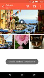 HTC One M8 - Connection - Transferir archivos a través de Bluetooth - Paso 14