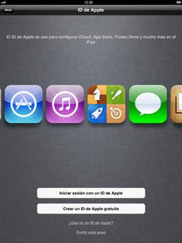 Apple iPad 2 - Primeros pasos - Activar el equipo - Paso 10