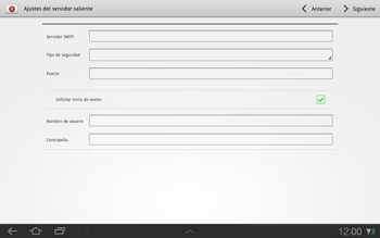 Samsung P7500 Galaxy Tab 10-1 - E-mail - Configurar correo electrónico - Paso 10