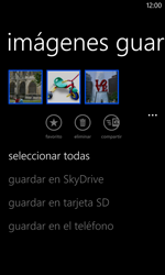 Nokia Lumia 520 - Connection - Transferir archivos a través de Bluetooth - Paso 9