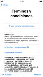 Apple iPhone 6s iOS 11 - Primeros pasos - Activar el equipo - Paso 20