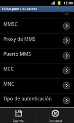 Samsung I8160 Galaxy Ace II - MMS - Configurar el equipo para mensajes multimedia - Paso 13