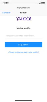 Apple iPhone X - E-mail - Configurar Yahoo! - Paso 6