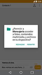 LG K10 (2017) - MMS - Escribir y enviar un mensaje multimedia - Paso 15