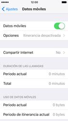 Apple iPhone SE - iOS 10 - Internet - Activar o desactivar la conexión de datos - Paso 4